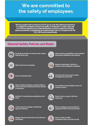 General Safety Policies